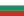 Vlag van Bulgarije